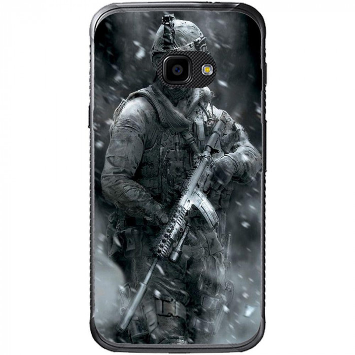 Husa Grey Soldier Samsung Galaxy Xcover 4 foto mare
