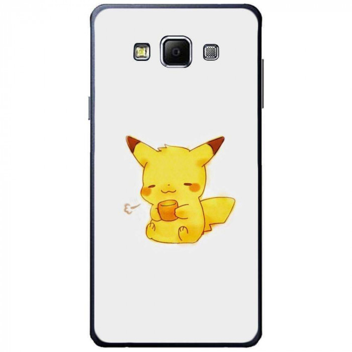 Husa Cute Pikachu SAMSUNG Galaxy A7 foto mare