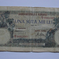 Bancnota 100000 lei 1945