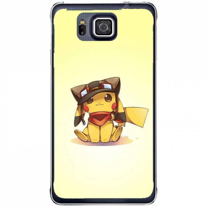Husa Cute Pikachu Samsung Galaxy Alpha G850 foto mare