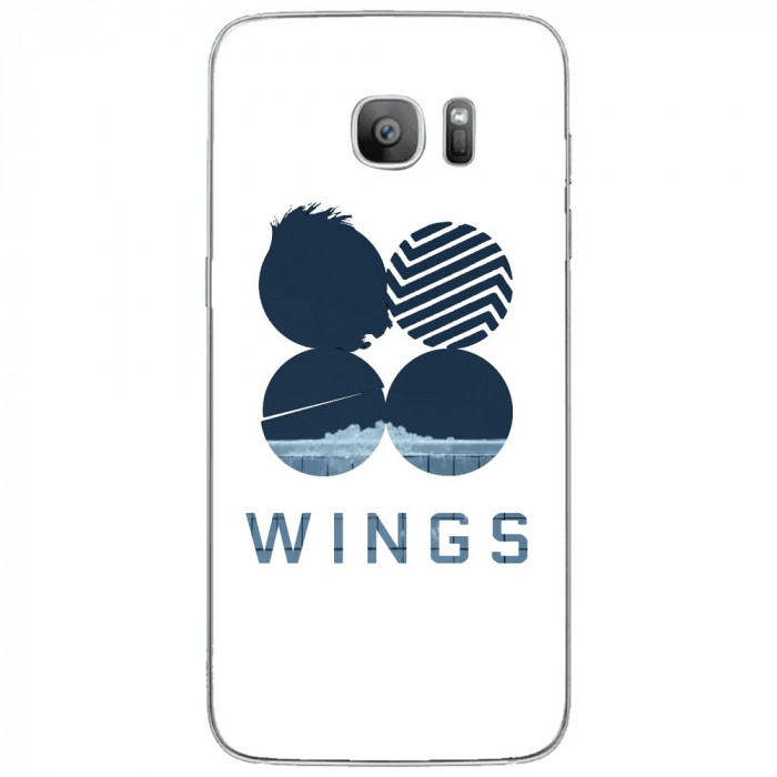 Husa Blue Wings SAMSUNG Galaxy S7 Edge foto mare