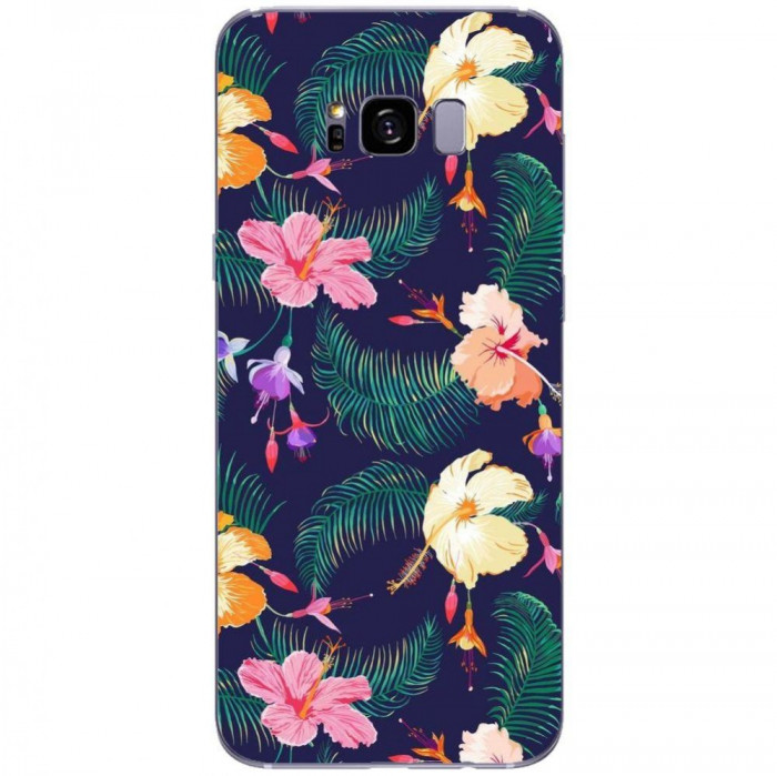 Husa Cute Retro Flowers SAMSUNG Galaxy S8 Plus foto mare