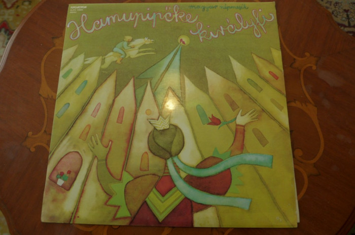 Disc vinil  Molnár Piroska / Szabó Gyula – Hamupipőke Királyfi       SLPX 13969 foto mare