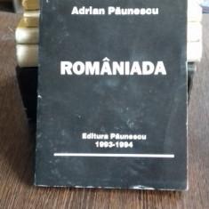 ROMANIADA - ADRIAN PAUNESCU