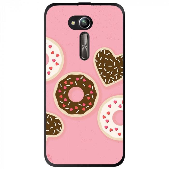 Husa Donuts Asus Zenfone Go Zb500kl foto mare