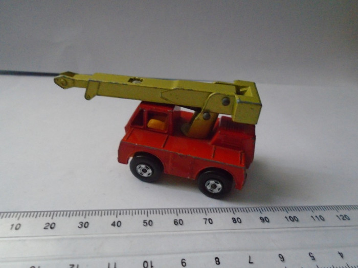 bnk jc Matchbox Lesney Superfast Iron Fairy Crane