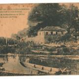 CPI B 10253 CARTE POST - MANASTIREA SF. PANTELEIMON UNDE A FOST UCIS ALI-PACHA, Circulata, Fotografie
