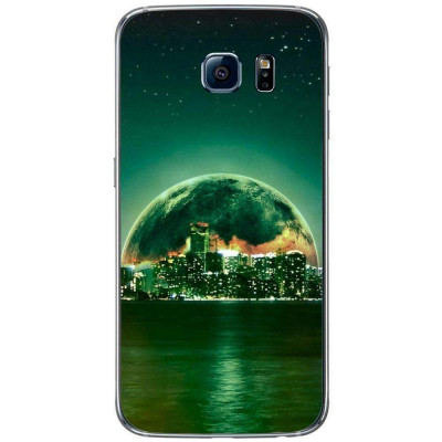 Husa Fantasy Green City SAMSUNG Galaxy S6 foto
