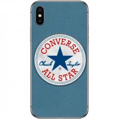 Husa Blue Converse APPLE Iphone X