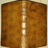 Carte veche Oeuvres de Boileau Tom II, secol 18, legata in piele, de colectie