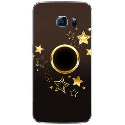 Husa Goldy Star SAMSUNG Galaxy S6 Edge foto