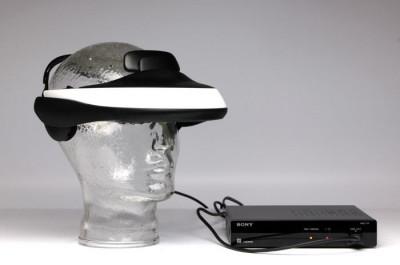 SONY HMZ-T1 Vizualizator 3D personal foto