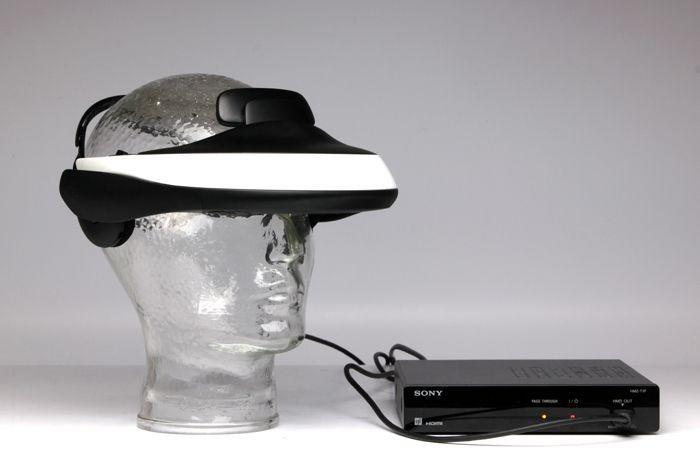 SONY HMZ-T1 Vizualizator 3D personal foto mare