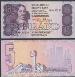 Africa de Sud 1981-1989 - 5 rand UNC