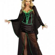 F148 Costum Halloween vrajitoare, Marime: M