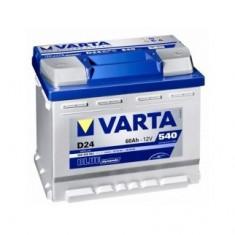 Baterie auto Varta D24, Blue dynamic, 60Ah, 540A, 5604080543132, 60 - 80