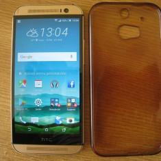 HTC One M8 - Telefon mobil HTC One M8, Auriu, 16GB, Neblocat