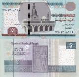 EGIPT 5 pounds 2016 UNC!!!