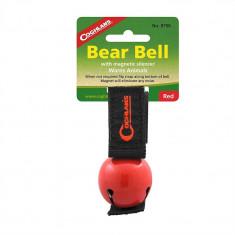 Coghlans Clopotel Anti-Animale / Urs Bear Bell Rosu 0756