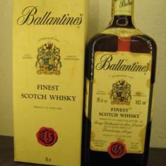 R A R E whisky ballantines, FINEST SCOTCH WHISKY, cl 75 gr 40 ani 70 lot ( C )