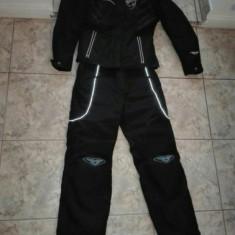 Costum moto dama textil, Combinezoane