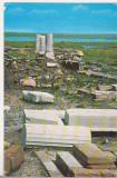 bnk cp Ruinele cetatii Histria - Vedere - circulata