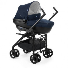 Carucior 3 in 1 Trio Sprint BLUE PASSION - Carucior copii 2 in 1 Chicco