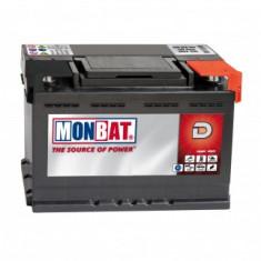 Baterie Monbat Dynamic, 55Ah, 480A - Baterie auto Monbat, 40 - 60