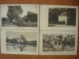 Peisaje - lot 7 carti postale vechi ( G. Heuer & Kirmse - Germania ), Necirculata, Printata, Europa