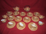 Serviciu portelan pentru ceai, cafea  chinezesc  pt 12 persoane  42  piese