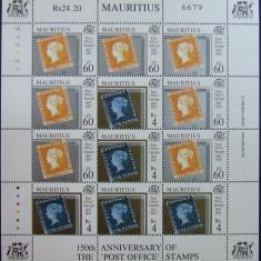 MAURITIUS - ANIVERSARE, 1 M/SH,  NEOBLITERATE - E1285