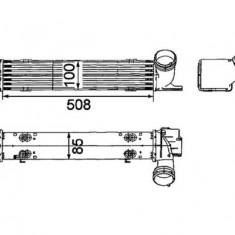 Intercooleer BMW 1 (E81), 1 (E82), 1 (E87), 1 (E88), 3 (E90), 3 (E91), X1 (E84) 2.0D 11.03- - Intercooler turbo Thermotec
