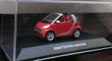 Macheta - Smart fortwo Second Gen. 2007 (W451) rosu - Spark 1/43, 1:43