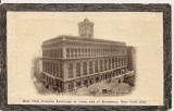 SUA - New York, Philadelphia - lot 5 carti postale vechi, Necirculata, Fotografie, America de Nord