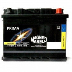 Baterie auto Magneti Marelli Prima, 62Ah, 510A, 60 - 80