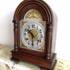 Ceas de semineu cu pendula Ansonia 1890 USA