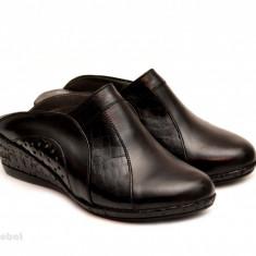 Saboti dama Negri piele naturala cod SB21, 35 - 40, Negru