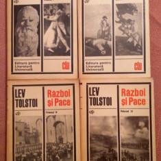 Razboi si Pace . Editura pentru Literatura Universala, 4 Volume - Lev Tolstoi - Roman istoric