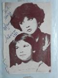 FOTOGRAFIE CU AUTOGRAF - MARGARETA PASLARU - ANUL 1981