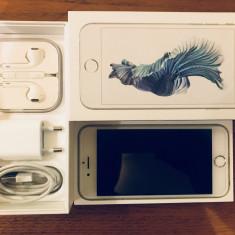 Iphone 6s Silver, 16 GB, neverlocked - Telefon iPhone Apple, Argintiu, Neblocat