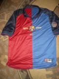 Tricou Aniversar al Echiei de Fotbal TC Barcelona 1899-1999 ,marime XL, NIKE, Albastru