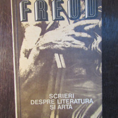 SCRIERI DESPRE LITERATURA SI ARTA -SIGMUND FREUD - Carte Filosofie