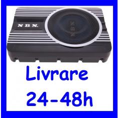 Subwoofer COMPACT cu Amplificator inclus NBN se poate monta sub scaun ALTCT-3682