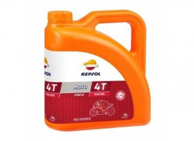 Ulei motor Repsol Moto Racing 4T, 10W40, 4L foto