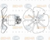 Ventilator aeroterma interior habitaclu NEOPLAN Skyliner HELLA 8EW 009 160-291