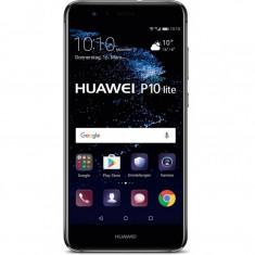 Smartphone Huawei P10 Lite, Dual Sim, 5.2 Inch, Octa Core, 3 GB RAM, 32 GB, Retea 4G, Android Nougat, Negru - Telefon Huawei, Neblocat