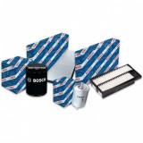 Pachet filtre revizie SKODA RAPID Spaceback 1.4 TSI 125 cai, filtre Bosch