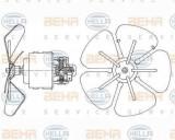Ventilator aeroterma interior habitaclu NEOPLAN Jetliner HELLA 8EW 009 160-291