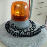 Girofar auto cu ventuza si magnet