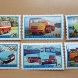 Romania nestampilate 1975 -  Michel 3.6 euro- Autovehicule românești, Nestampilat
